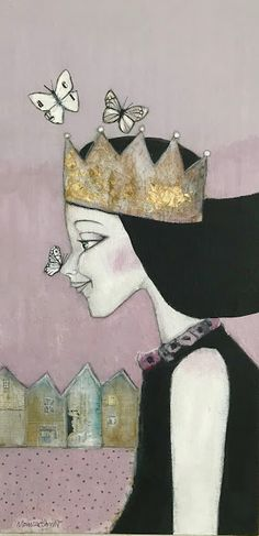 Monica Blom Art: Collage