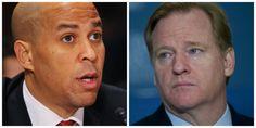 Cory Booker: Revoke NFL's non profit status and give money to domestic abuse prevention