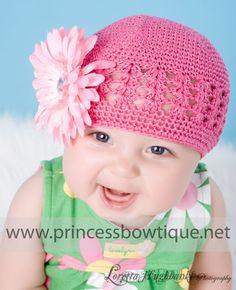 PINK CROCHET HAT   Crochet For Beginners