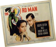 The third man, a classics of film history. A man who has attained with its film roll cult status would have celebrated its birthday: ​​Orson Welles. Carol Reed, Joseph Cotten, Graham Greene, The Third Man, Orson Welles, Museum, Ways Of Learning, Famous Movies, Workshop