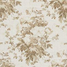 Elsa Linen Floral - Antique Ivory - Florals - Fabric - Products - Ralph Lauren Home - RalphLaurenHome.com