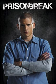 Another one of my favorite shows is Prison Break. There was a lot of drama in the show and it just gets me pumped up to watch it. Best Series, Best Tv Shows, Best Shows Ever, Favorite Tv Shows, Tv Series, Michael Scofield, Broken Movie, Wentworth Miller Prison Break, Michael And Sara