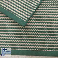 Vihreä-beige Lokki-matto