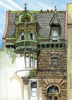 Tommy Kane's Art Blog: Hasidic Brooklyn