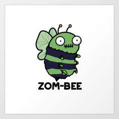 Halloween Zombie, Halloween Doodle, Halloween Drawings, Cute Halloween, Cute Patterns Wallpaper, Cute Wallpaper Backgrounds, Bee Puns, Funny Doodles, Pun Card