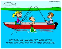 New Fishing Cartoon 7/24/2010 | Fishead Tackle Blog