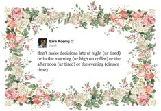 and incredibly wise. | Vampire Weekend's Ezra Koenig Is Better At Twitter Than You
