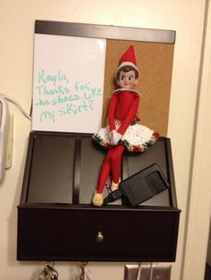 simple Dressing up Elf on the Shelf Idea and 134 Simple Elf on the Shelf Ideas