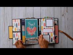Folio Mini Album | Simple Stories - Faith - YouTube