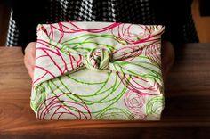 Furoshiki - Gift Wrapping Idea