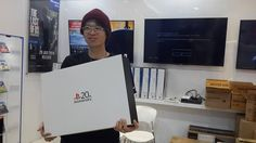 After winning the Playstation 20th Anniversary Instagram contest, I got the right to buy this beautiful 20th Anniversary Playstation 4 from the Sony Store in Taman Anggrek Mall, Jakarta, Indonesia