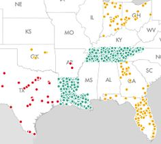 A Map of Thousands of Schools That Are Allowed to Teach Creationism With Taxpayer Money