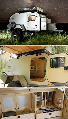 Cool Camping Trailers: Moby1 - - To connect with us, and our community of people from Australia and around the world, learning how to live large in small places, visit us at www.Facebook.com/TinyHousesAustralia or at www.tumblr.com/blog/tinyhousesaustralia