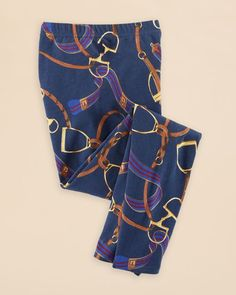 Ralph Lauren Girls' Equestrian Leggings - Sizes S-xl
