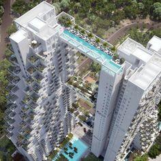 A piscina mais assustadora do mundo? Conheça a cobertura deste prédio de 38 andares | Época NEGÓCIOS - notícias em Empresa