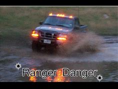 Ford Ranger with cab lights