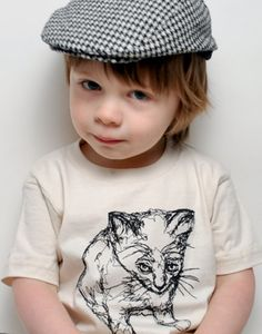 Kitty Shirt   love the hat, buy these for my grandson