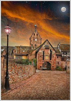Riquewihr, Alsace - France