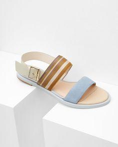 48578df11c954 DANAEII Flat buckle sandals - Ted Baker Ted Baker Sandals