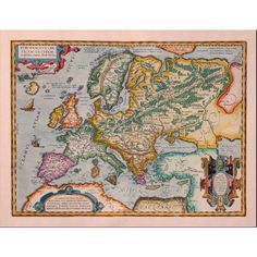 Map of the world, World map poster, World map, Europe, 174 (£6.96) ❤ liked on Polyvore featuring home, home decor, wall art, european home decor, framing posters, map home decor, map poster and map wall art