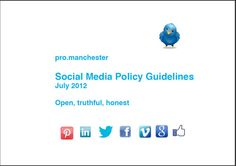 Every organisation should have a set of Social Media Policy Guidelines, this is ours, JKA