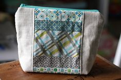Scrappy Makeup Pouch by Sew It Pretty, via Flickr