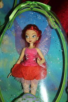 Disneystore Fairies 5 Doll Set Tinker Bell Silvermist Fawn ...