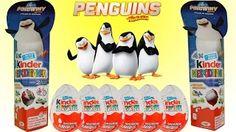 Niespodzianka dla dzieci - YouTube W tym wideo otwieram 8 jajka niespodzianki pingwiny z madagaskaru kolekcja 2014. Otwieram 2 opakowania z jajkami niespodziankami w środku znajduje się po 4 jajka w każdym opakowaniu razem to jest 8. Ja lubię ten filmik z pingwinami z madagaskaru a ty? Proszę napisać o tym czy lubisz ten filmik i jakie figurki tobie się spodobały najbardziej.