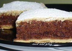 Cook and Play: Domaća pita od čokolade Sweet Desserts, Easy Desserts, Sweet Recipes, Baking Recipes, Cake Recipes, Dessert Recipes, Kolaci I Torte, Croatian Recipes, Cake Business