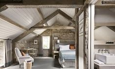 The Wild Rabbit - posh pub/hotel in the Cotswolds (including nearby farm store and spa)