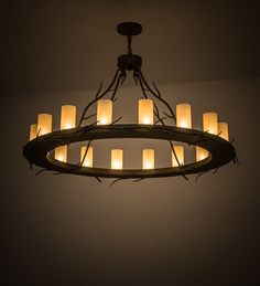 """48""""W Loxley Branches 16 Lt Chandelier"""
