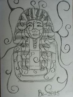 Farao gemaakt door Bram