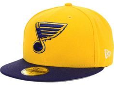 newest collection a8a55 01a6c St. Louis Blues Fitted Hat, Blues Fitted Caps