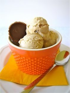 peanut butter ice cream.