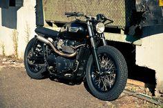 """Moto Triumph Hellas: Triumph CRD """"Proyecto Corsario"""""""