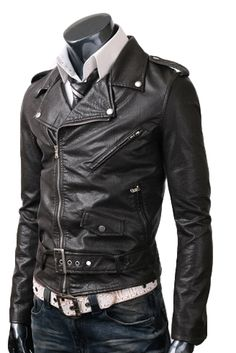 $179.00 - For all the hardcore biker out there who wanna like their pleasure to the next level, this black rider jacket costume is just designed for them. The Black Zipper Jacket designers have come up with this design to embellish the bikers' other gears and as well as their darling superfast two-wheeler machines! This black belted jacket has been crafted from the world's premium Cowhide.