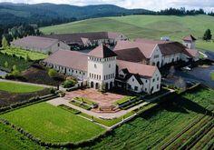 King Estate in Eugene, Oregon offers tours of its biodyamic vineyard.