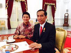 Rio Haryanto harumkan nama #Indonesia di dunia balap untuk maju ke ajang F1. Dukung anak muda berprestasi dunia -Jkw