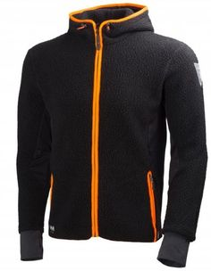 a4ec9539 Helly Hansen's 72269 Mjølnir Hood Fleece Jacket is perfect for keeping you  comfortable whilst outdoors in the cold. It's made from a Polartec  Powerstretch ...