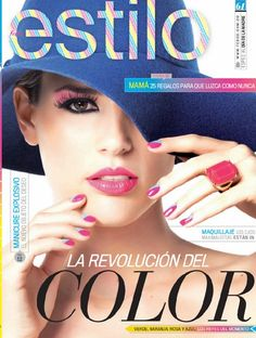 Revista Estilo Abril Tips Belleza, Portal, Make Up, Colors