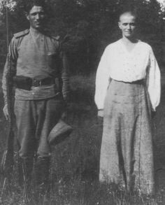 Maria with Ivan Sherokhodov, the guard who smuggled a birthday cake in to the Ipatiev house to celebrate her 19th birthday and who was found subsequently in a compromising situation with her during an official inspection if the house, after which he was swiftly taken away to Ekaterinburgh Jail. The incident resulted in the introduction of a vigorous new routine at the house as well as a replacement of the commandant there. Poor Mashka was given the cold shoulder by her mother and older…