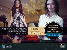Are you working Professional and want to Boost your career in Luxury? Enroll for Executive Diploma in Luxury Management now!  Visit :http://lcbs.edu.in/executive-diploma-in-luxury-brand-management/ #LuxuryEducation #LuxuryBrandManagement #Education #BSchool #Diploma #College #University #PostGraduate #Luxury