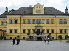 Castelo de Hellbrunn no Salzburgo