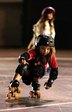 Junior Derby is the cutest thing ever! --- Long Beach Junior Roller Derby.  Photo by Jesse Freeman.    i think this is going to be my daughter....in the future...