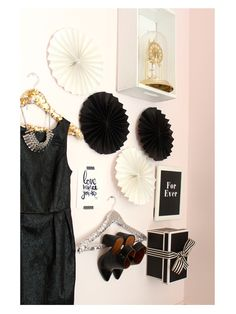 party dress & display wall,