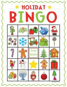 This Holiday Bingo Set is perfect for class parties or family gatherings! It comes with 15 different variations of the bingo board (to mix it up) and caller cards. The bingo boards and caller cards come in color and B&W for your convenience. Enjoy and Happy Holidays!