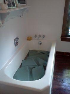 yoga mat vinegar bath