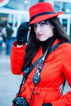 Carmen Sandiego by sdoorly, via Flickr