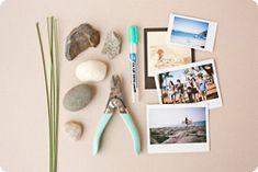 The DIY Stone Photo Holder: Make a Rad Photo Display for Under $5   Photojojo