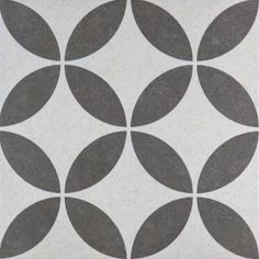 Buy Bloomsbury Feature Wall & Floor Tiles tiles from Tons of Tiles with Next Day UK Delivery, Samples Available from only inc P&P. White Wall Tiles, Black And White Tiles, Wall And Floor Tiles, Floor Patterns, Tile Patterns, Fun Patterns, Terrazzo Tile, Cement Tiles, Wall Tile Adhesive